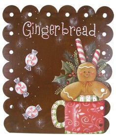 Gingerbread Memo Board Pattern by Chris Haughey