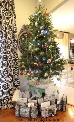 You can use a smaller tree, but still have BIG impact Table Top Christmas Tree