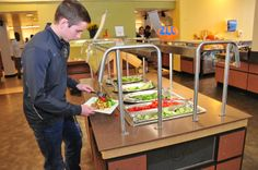 Colonial Quad: Avoid the Freshmen 15, by creating a salad of your choice!