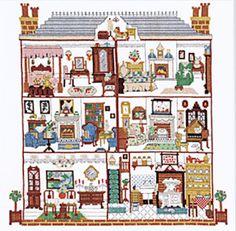Cross Stitch Dollhouses