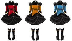 Star Trek The Next Generation Gothic Lolita OPs by reneedicherri.deviantart.com on @deviantART