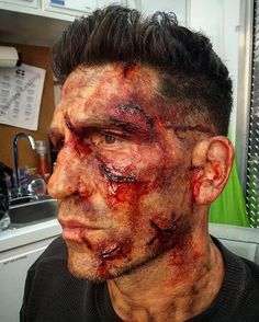 Punisher Season 2, Tv Shows, Halloween Face Makeup, Marvel, Seasons, Artwork, Fictional Characters, Punisher, Work Of Art