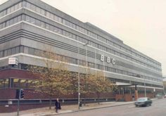New Broadcasting House, home of BBC North, Oxford Road, Manchester, United Kingdom, 1978.  This building, demolished in 2013 after BBC shifted production and offices to MediaCityUK in Salford in 2011.  This building housed the production of innumerable classic British television programmes including The Old Grey Whistle Test and Red Dwarf, and housed the innovative BBC Youth & Entertainment departpment lead by Janet Street Porter.