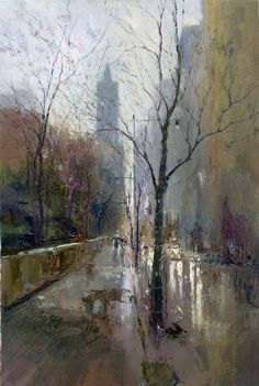 Dan McCaw wet cityscape