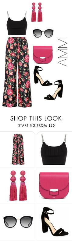 """Ss'18"" by antoo-xoxo on Polyvore featuring Dolce&Gabbana, Alexander Wang, Oscar de la Renta and CÉLINE"