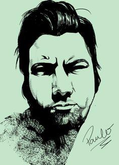 Chino Moreno by Paulo-Man.deviantart.com on @deviantART