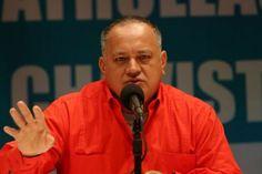 """Cabello alerta supuestos nuevos actos """"desestabilizadores"""""""