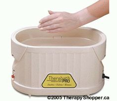Therabath Pro paraffin wax  great for dry skin and scar treatments