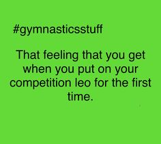 Funny Gymnastics Quotes, Gymnastics Lessons, All About Gymnastics, It's Amazing, First Time, Cheer, Competition, Marvel, Feelings