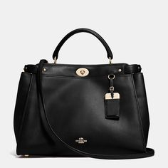 MN - love the style of this bag but in different Color.     Coach Gramercy Satchel in Leather, 495.00