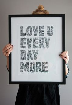 Malgorzata Bieroza love you every day more
