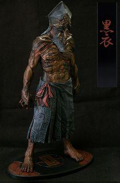 脩壱 クリーチャー 黒子 kuroko 黒衣