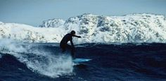 Surfing In A Subarctic Climate Has Never Looked So Beautiful. Must-watch video.