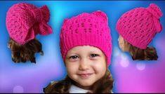 Видеоролик Knitted Hats, Crochet Hats, Videos, Winter Hats, Knitting, Long Scarf, Scarves, Accessories, Crocheted Hats