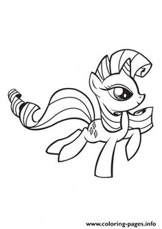 My Little Pony Rarity Coloring Pages Printable And Book To Print For Free Find More Online Kids Adults Of