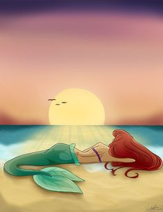 44 Ideas For Drawing Mermaid Ariel Fan Art – Art Drawing Disney Pixar, Arte Disney, Disney Animation, Disney Cartoons, Disney And Dreamworks, Disney Magic, Mermaid Disney, Disney Little Mermaids, Ariel The Little Mermaid