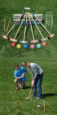 Croquet 117210: Lion Sports Select 6-Player 26 Croquet Set -> BUY IT NOW ONLY: $51.23 on eBay!