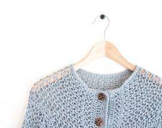 CROCHET PATTERN - DIY - Cardigan crochet pattern, Intermediate Experienced, women's cardigan,woman's jacket, gift idea,christmas gift idea