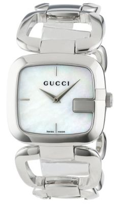 67550862f93 G-Gucci Medium White Mother of Pearl Dial Women s Watch(Model YA125404)