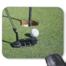 #golf Putting On The Green #mousepad