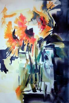 watercolor, Art by Karen Boss Moody #watercolor jd