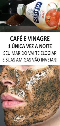 diy dicas beleza receita dicas de beleza cafe e vinagre cafe Beauty Make Up, Hair Beauty, First Health, Face Massage, Tips Belleza, Belleza Natural, Diy Skin Care, Face Care, Health Remedies