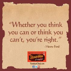 Be inspired by Henry Ford and download the latest #Inspirational posters, screensavers and #wallpaper from Tandoor Chef.