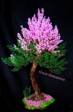 Beaded Crafts, Wire Crafts, Rock Crafts, Polymer Clay Crafts, Beaded Flowers Patterns, French Beaded Flowers, Seed Bead Art, Wire Trees, Handmade Wire