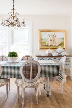 Hanging Plates & Swapping Chairs  Miss Mustard Seed  Furniture Amusing Miss Mustard Seed Dining Room Design Inspiration