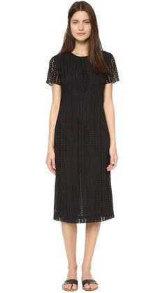 Jenni Kayne Short Sleeve Midi Dress