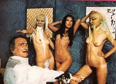 Salvador Dali's bizarre but sexy photoshoot for Playboy, 1973 | Dangerous Minds