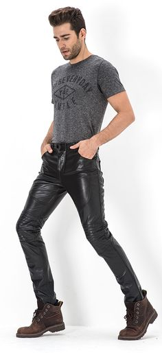 All you need is leather                                                                                                                                                                                 More