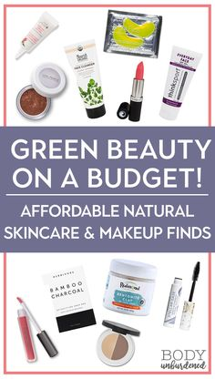 Green beauty on a budget! Affordable natural make-up and skin care - Makeup for Best Skins! Beauty Care, Beauty Hacks, Diy Beauty, Homemade Beauty, Clean Beauty, Beauty Ideas, Beauty Secrets, Beauty Guide, Beauty Stuff
