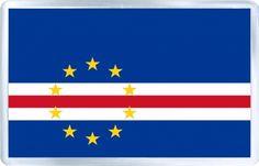 $3.29 - Acrylic Fridge Magnet: Cape Verde. Flag of Cape Verde