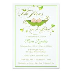 345 best twins baby shower invitations images on pinterest twin twins baby shower invitation two peas in a pod filmwisefo
