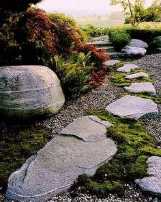 Японский сад камней 1