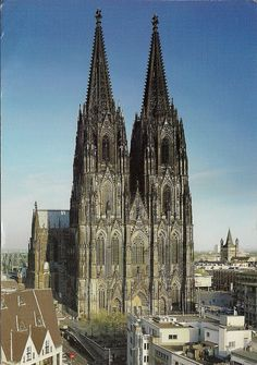 Cologne Cathedral.   After seeing the cathedrals in Germany/ France I'd love to see this in person.