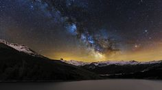 ***Stars above the French Alps by Álvaro y Jose Manuel Pérez Alonso. Brothers on 500px