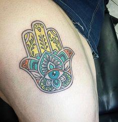 0918bffaeffe6 44 Best Tattoos images   Fatima hand, Lotus Tattoo, New tattoos
