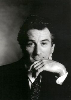 Robert De Niro, he winked at me in a Greenwich Village restaurant in NY, I almost fell over.