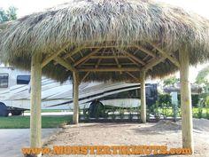 Tiki Huts Florida Builders Of Backyard Commercial 813 793 8454
