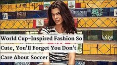World Cup Approved Women's Fashions! #worldcup #adidas #fifa