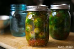 pickled brussel sprouts