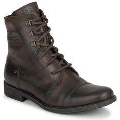 Boots Levis 215446-1944 Marron - Livraison Gratuite avec Spartoo.com ! - Chaussures Homme 119,00 €