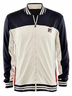 d24ab82834318 Fila Men's Vintage Vilas Jacket Fila Vintage, Men's Vintage, Tennis  Warehouse, Adidas Jacket