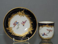 An attractive and richly decorated Sevres porcelain plate. Description from onlinegalleries.com. I searched for this on bing.com/images