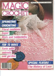Magic Crochet February 1987 by designsbypeggy on Etsy, $5.95