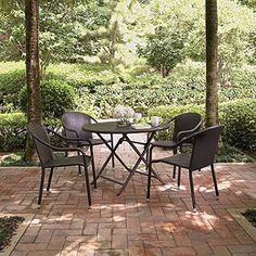 Crosley 5-Piece Palm Harbor Cafe Dining Set $388.00 & FREE Shipping