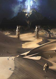 ArtStation - Gods of Egypt, by Maciej KuciaraMore concept art here.