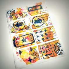 Papero amo: OLGA Office Supplies, Notebook, Stamping, Diy, Design, Do It Yourself, Bricolage, Stamping Up
